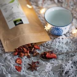 Tommy Cafe Zimowa Jagoda - 100g - herbata owocowa