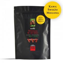 Tommy Cafe Wiśnia w Rumie - 250g - kawa smakowa mielona