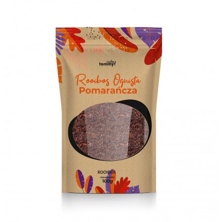 Herbata Rooibos Ognista Pomarańcza - Tommy Cafe - 100g
