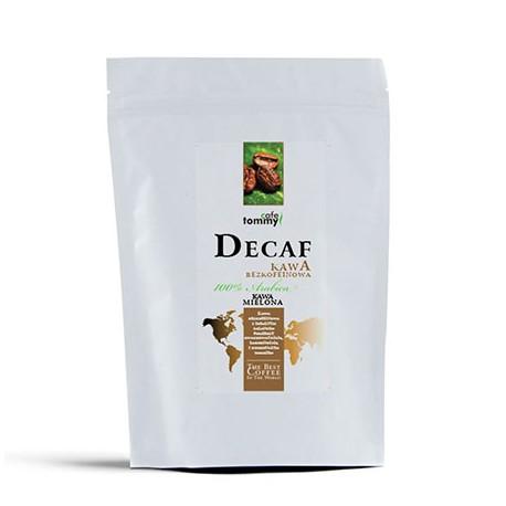 Tommy Cafe - 100% Arabica - 250g - kawa bezkofeinowa mielona