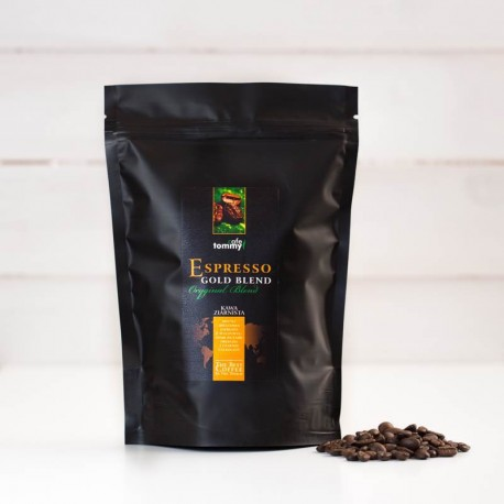 Tommy Cafe Espresso Gold Blend - 250g - kawa ziarnista