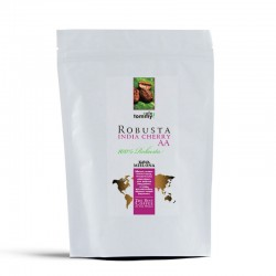 Tommy Cafe India Cherry AA Robusta - 250g - kawa mielona