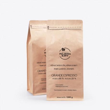 Krakowska Palarnia Kawy Grande Espresso - 1kg - kawa ziarnista