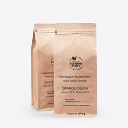 Krakowska Palarnia Kawy Grande Crema - 1kg - kawa ziarnista