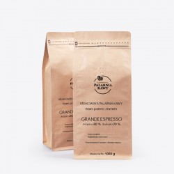 Krakowska Palarnia Kawy Grande Espresso - 1kg - kawa mielona