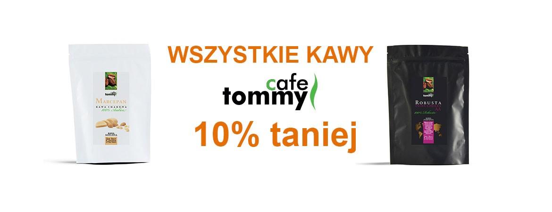 Tommy Cafe 10% taniej!